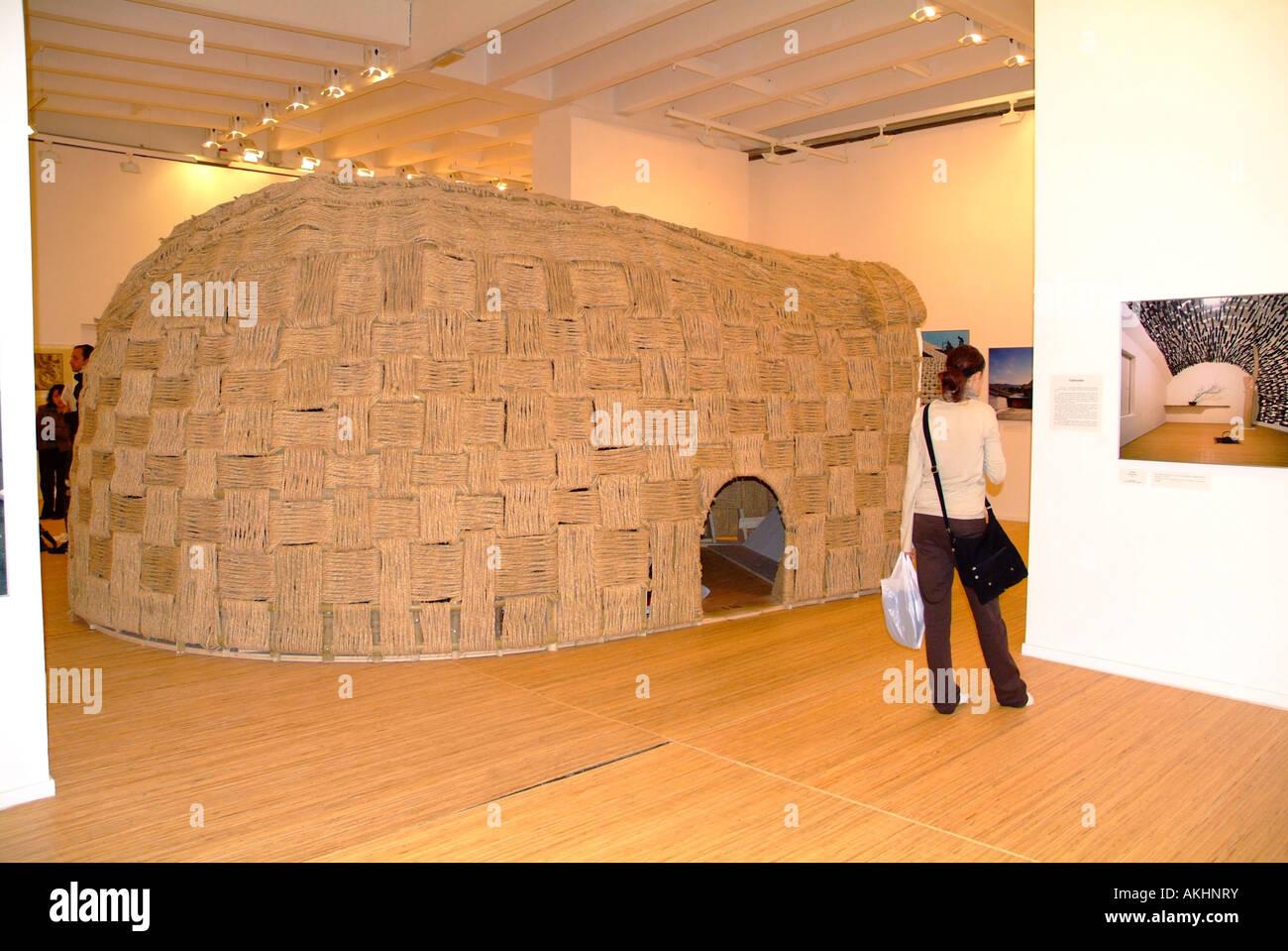 Japan pavilion, Biennale di Architettura exibition, Venice, Veneto, Italy Stock Photo