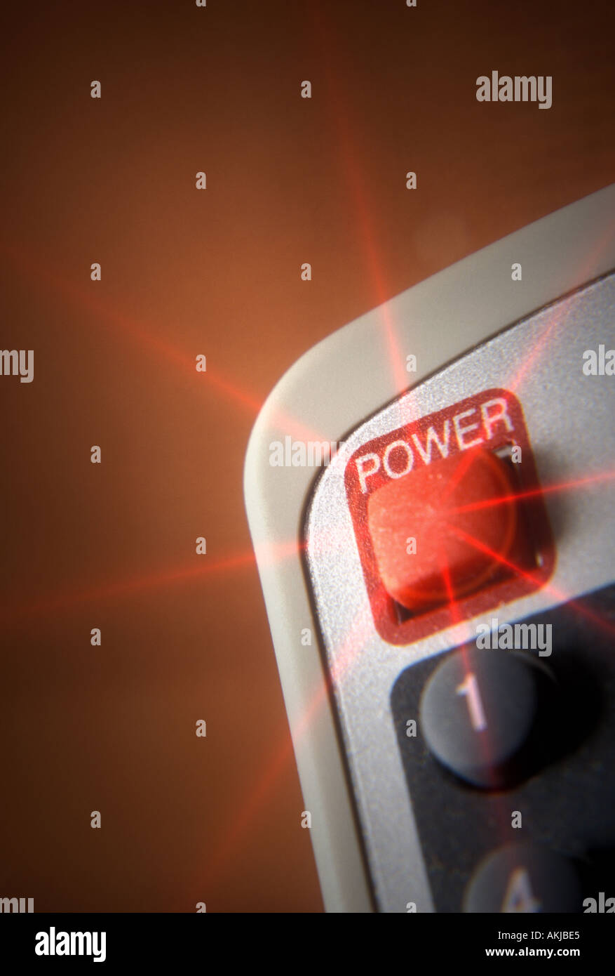 Power Switch - Stock Image