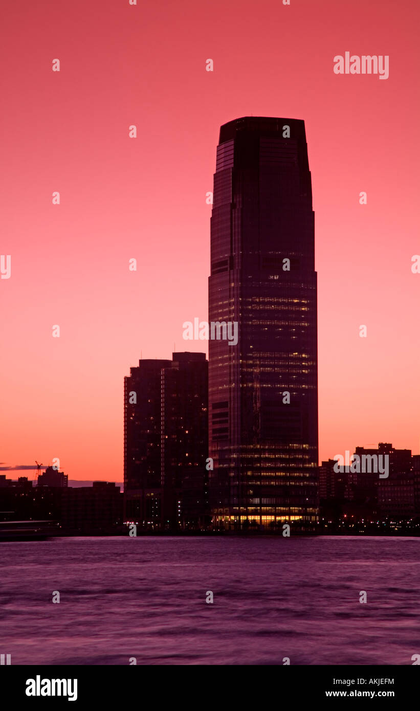 Goldman Sachs Tower in Jersey City, New York City, New York, USA - Stock Image