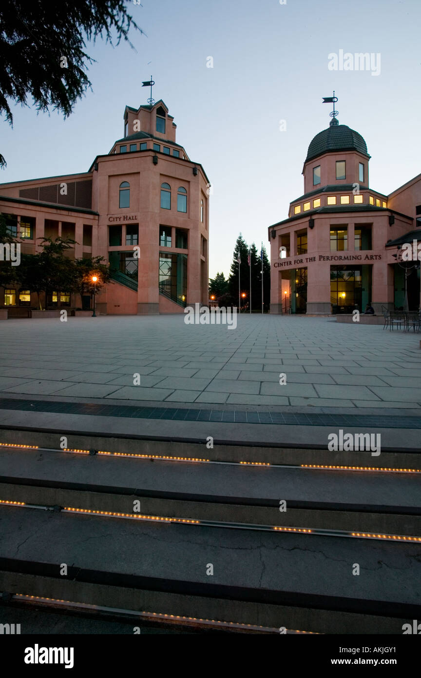 Performing Art Center, Mountain View California - Stock Image