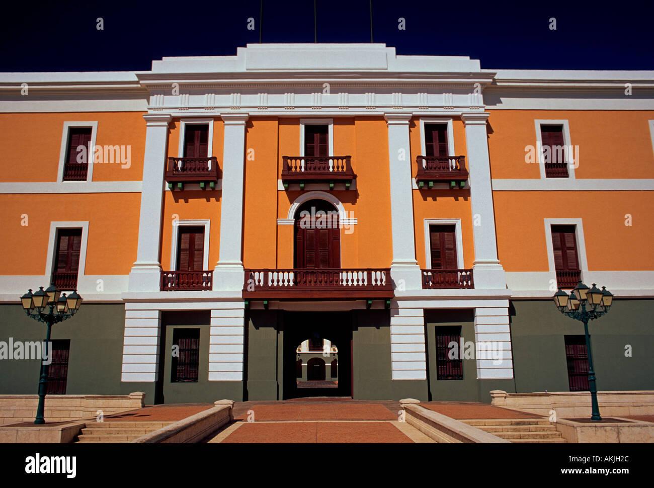 Ballaja Barracks, Cuartel de Ballaja, Old San Juan, San Juan, Puerto Rico, West Indies - Stock Image