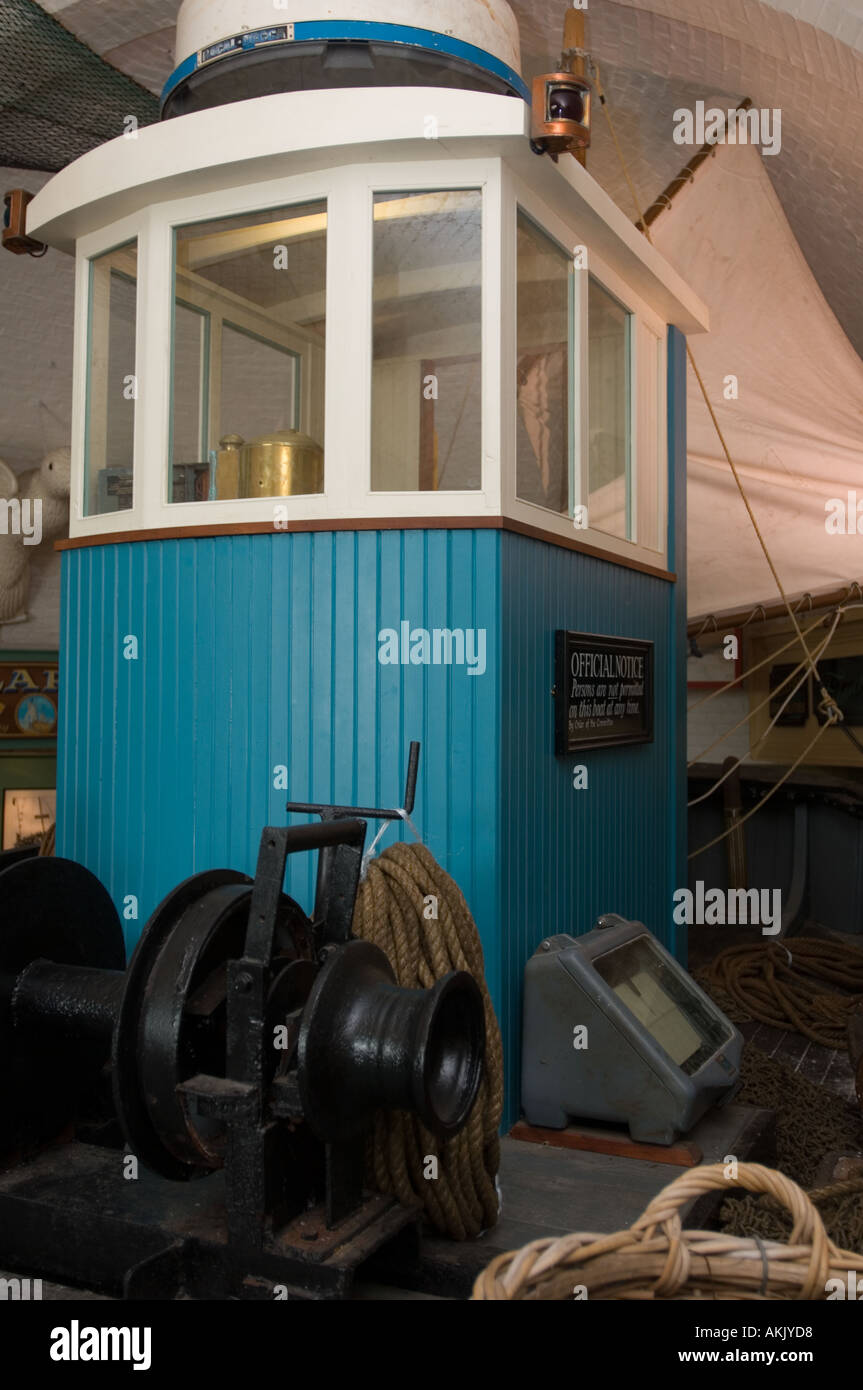 Old Fishing Boat Cabin Stock Photo Alamy