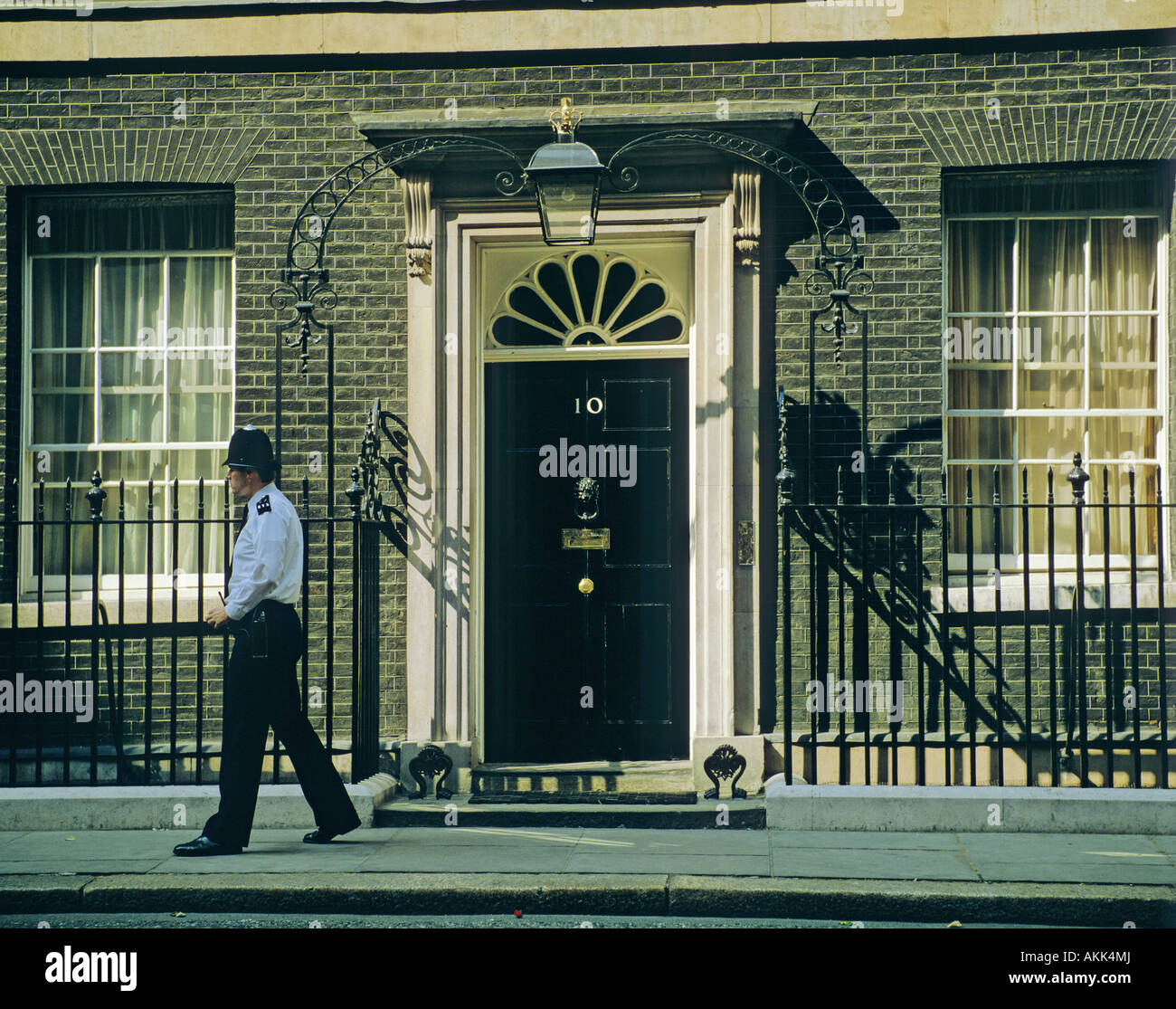 10 Downing Sreet London England - Stock Image