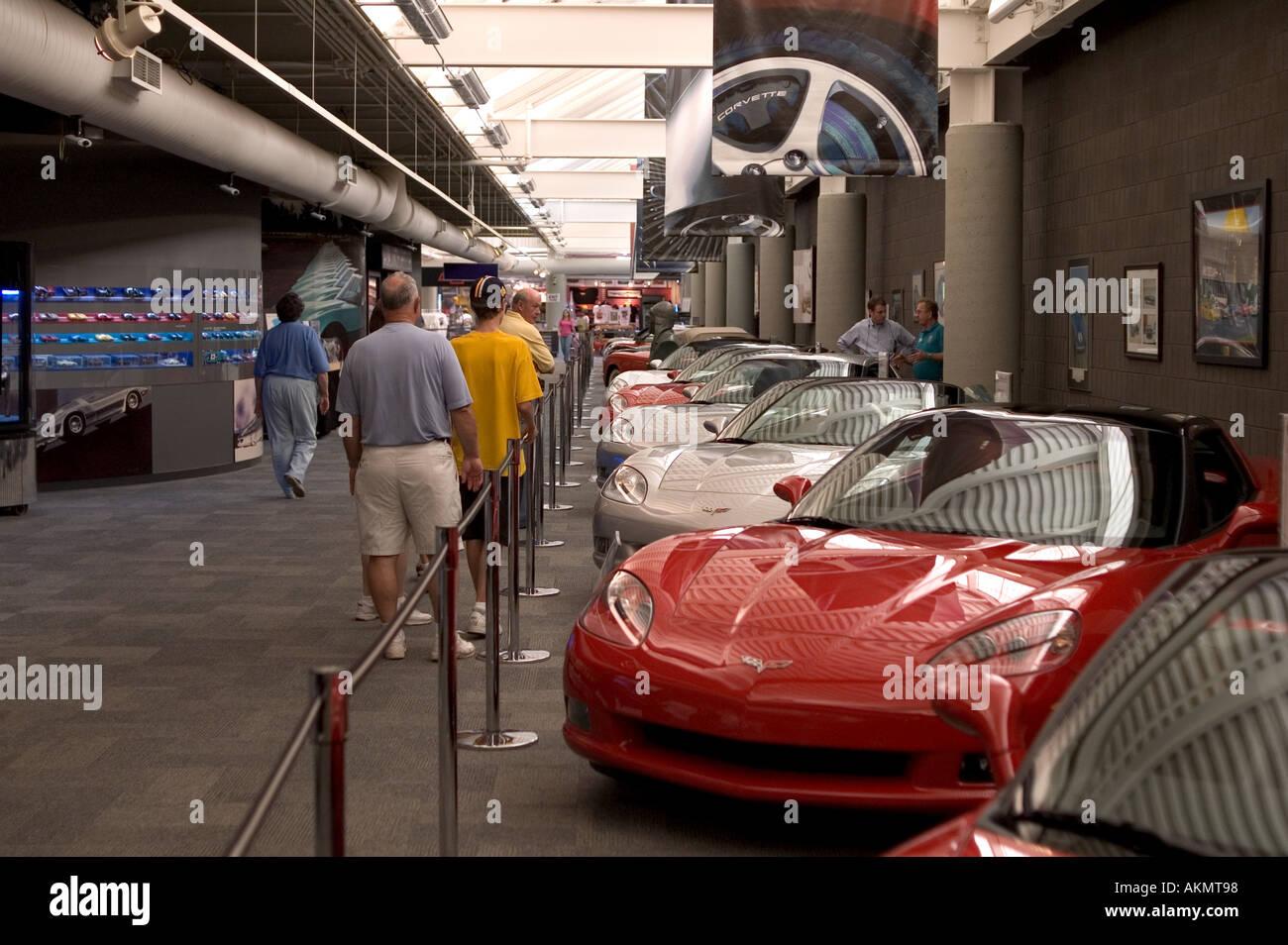 National Corvette Museum >> The National Corvette Museum In Bowling Green Kentucky