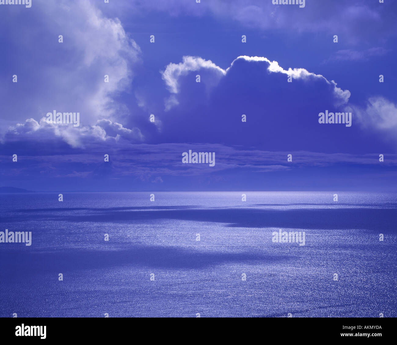 IE - CO.MAYO: Dramatic Atlantic Sky - Stock Image