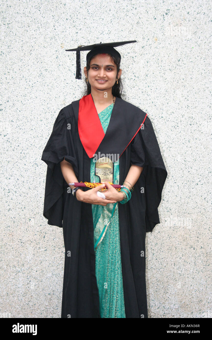 a0ab750e46e Graduation Gown India Stock Photos   Graduation Gown India Stock ...