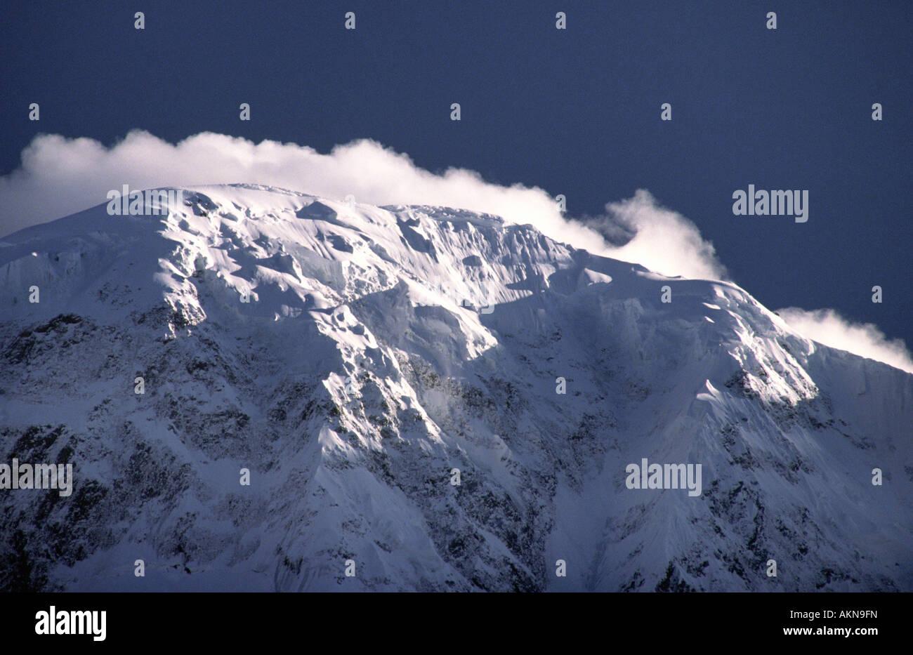 Mountain scenery. Passu, Hunza Valley, Pakistan. - Stock Image