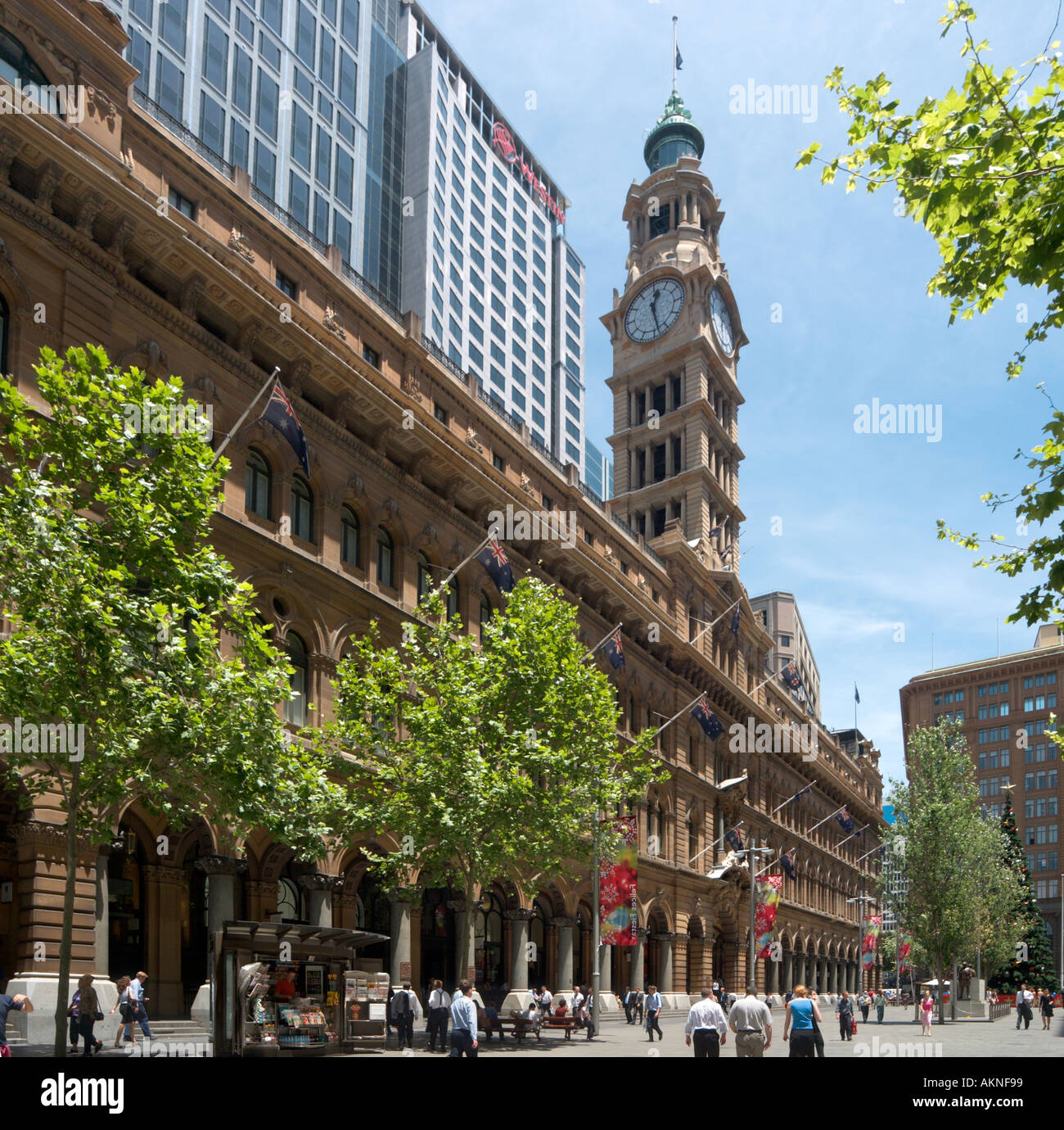 Old General Post Office Building (now a Westin Hotel), Martin Place, Sydney, New South Wales, Australia - Stock Image