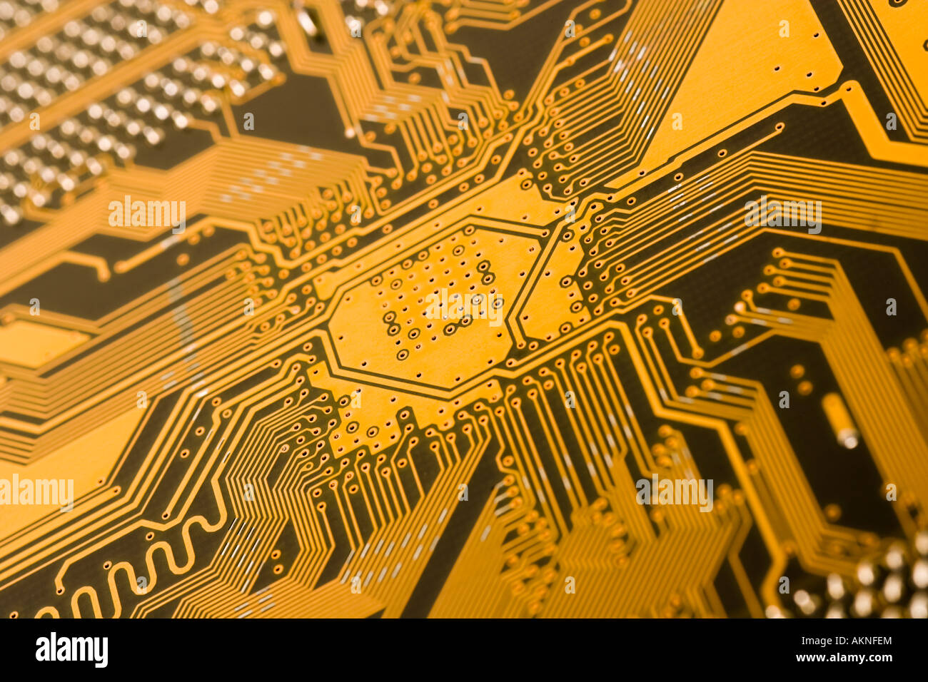 gold circuit board stock photos gold circuit board stock images