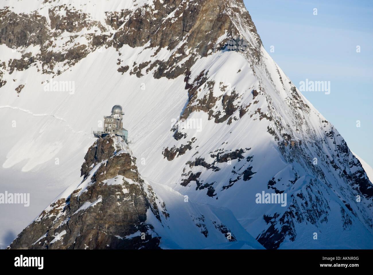 Sphinx Observatory Jungfraujoch Top of Europe Aletsch