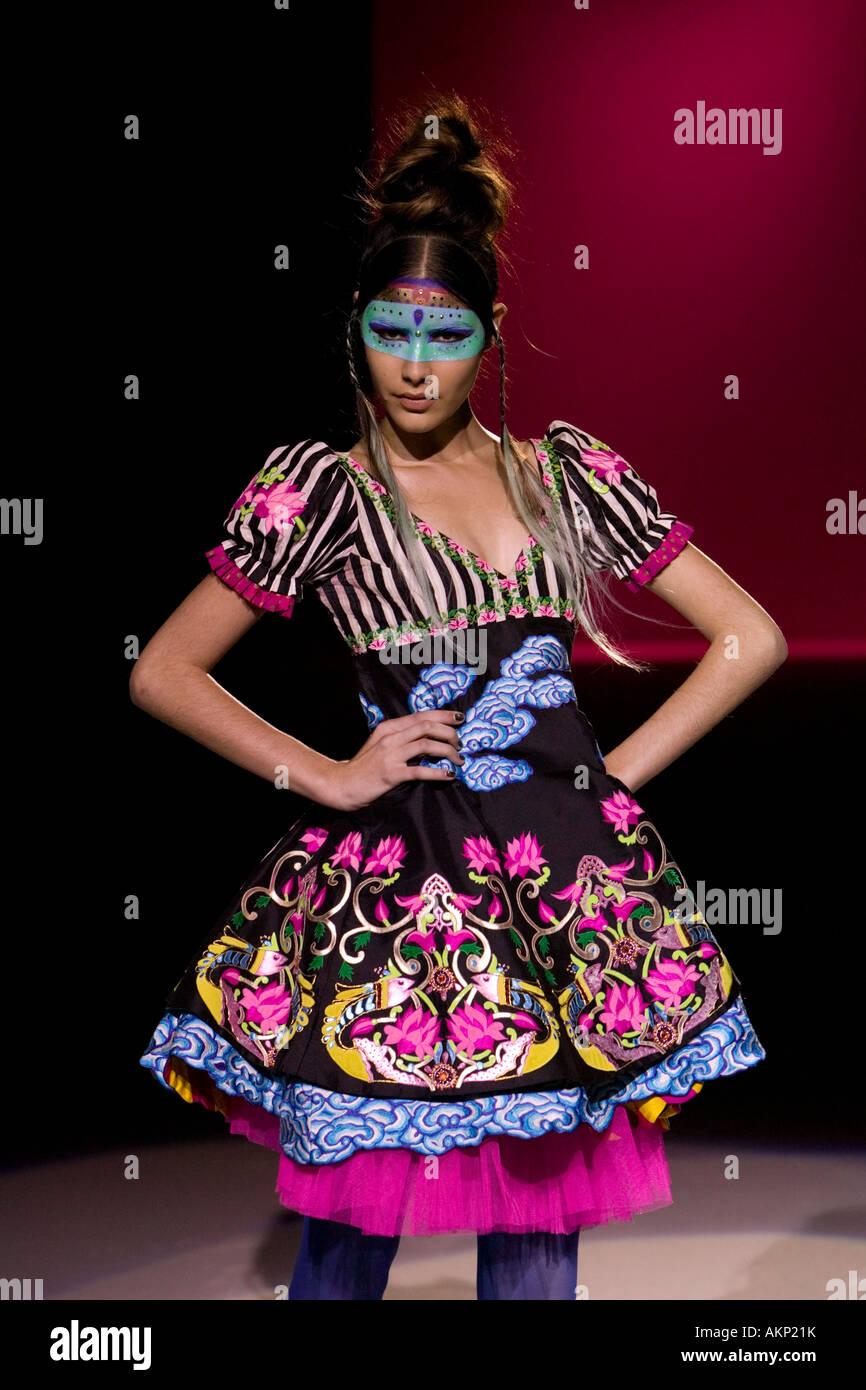 Indian Fashion Designer Manish Arora Fashion Show Retrospective At Stock Photo Alamy