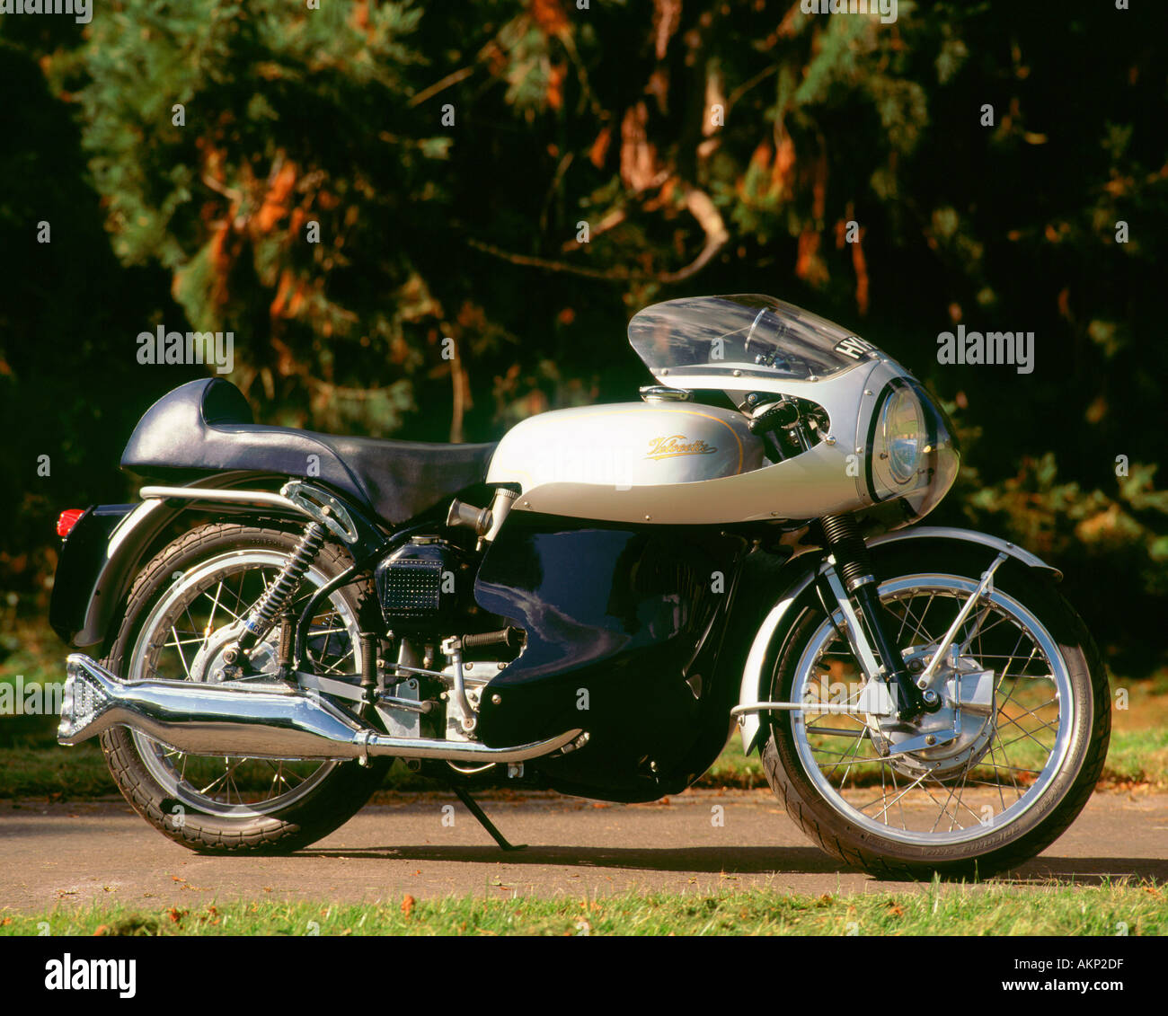 Profile Of Classic Bike Stock Photos Velocette1958leenginediagramjpg 1965 Velocette Thruxton Veeline Image