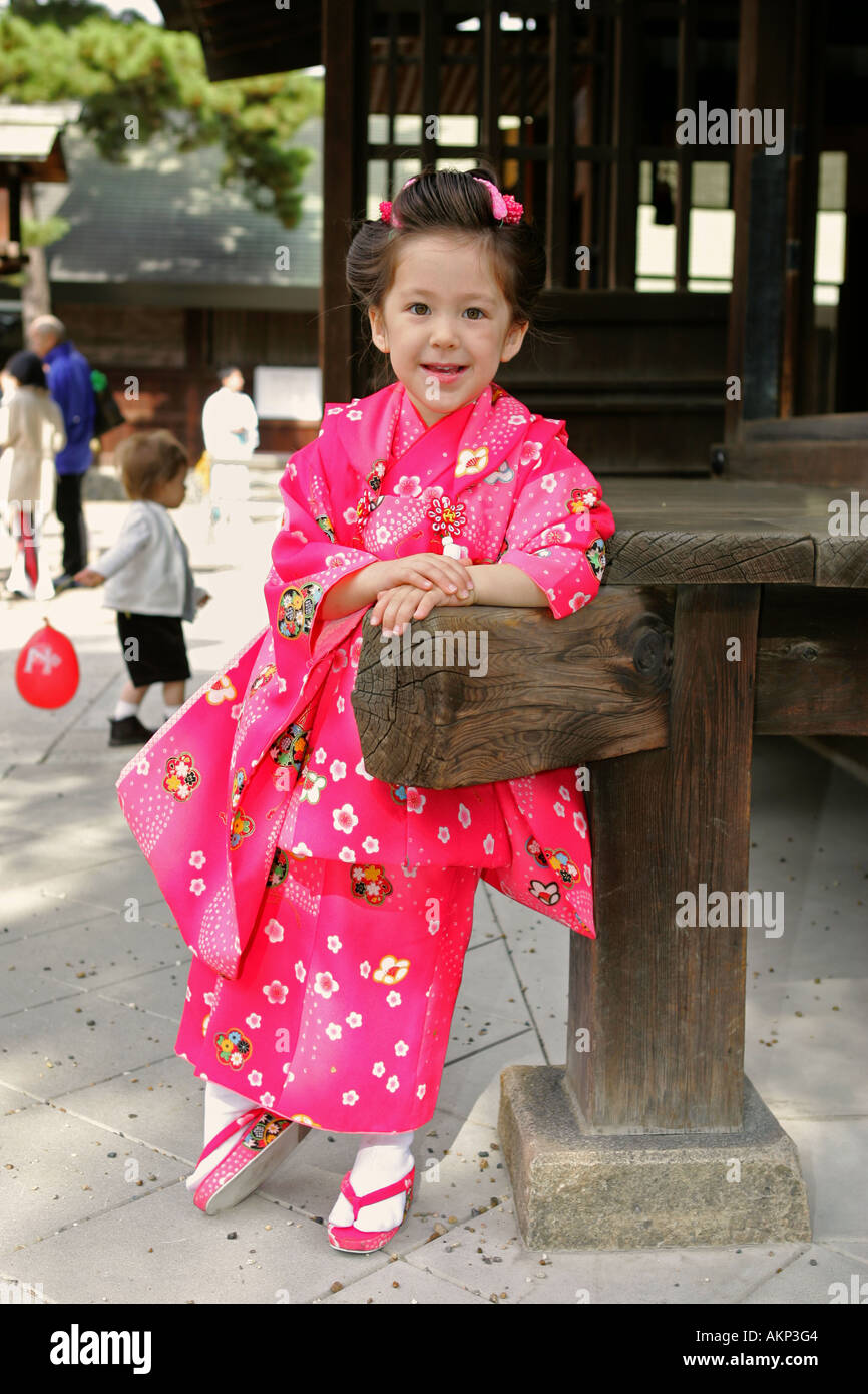 Cute Japanese Australian Multicultural Mixed Race Young Girl Dressed