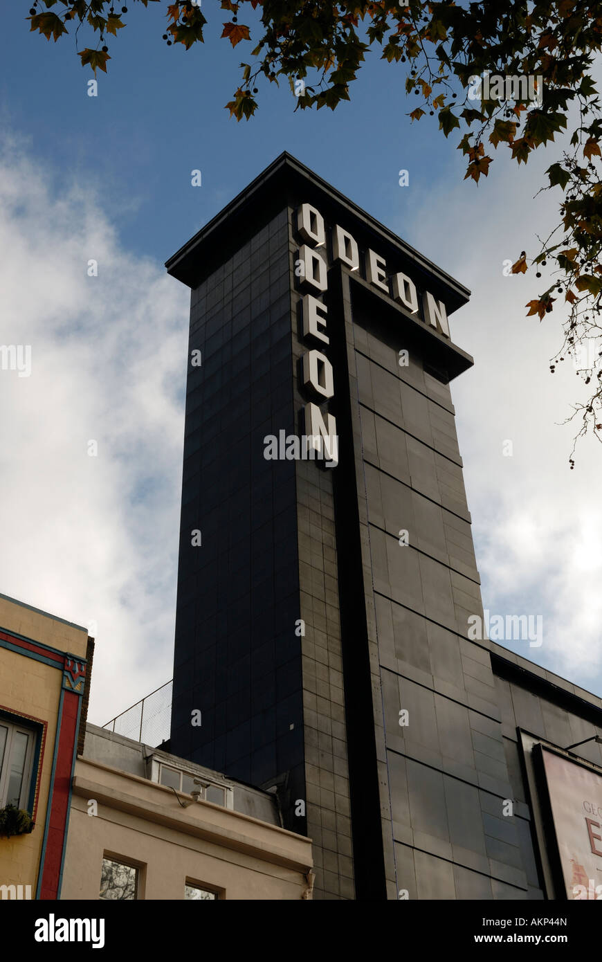 Odeon Cinema Leicester Square London England UK - Stock Image
