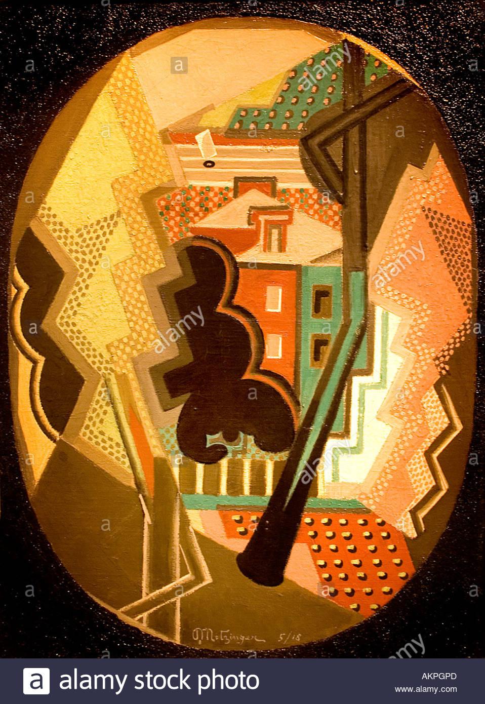 Still life 1918  ean Metzinger 1883 - 1956 France French - Stock Image