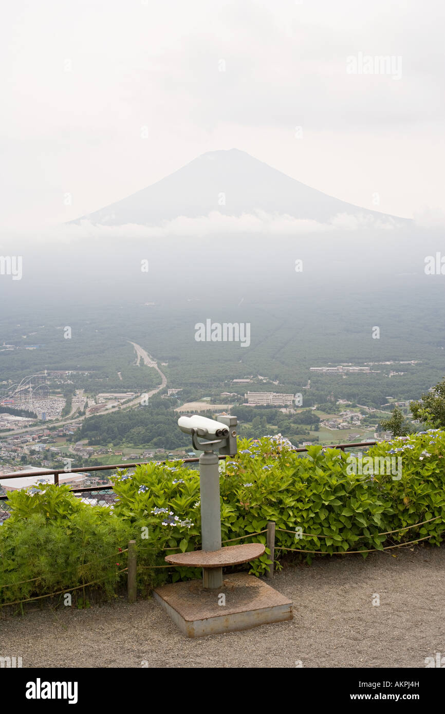 View to mount fuji - Stock Image