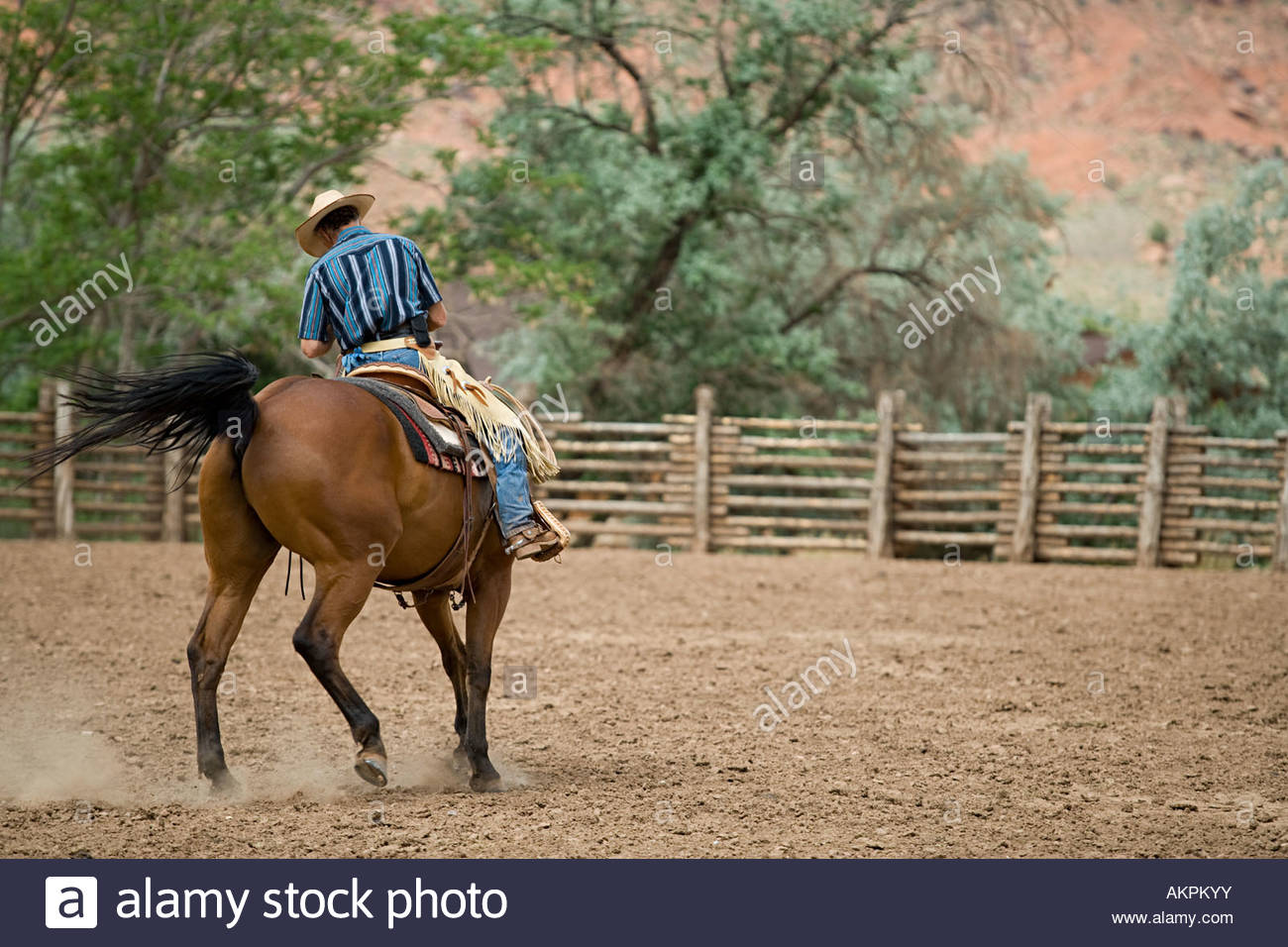 Wild West Cowboy Horse Stock Photos Wild West Cowboy Horse Stock