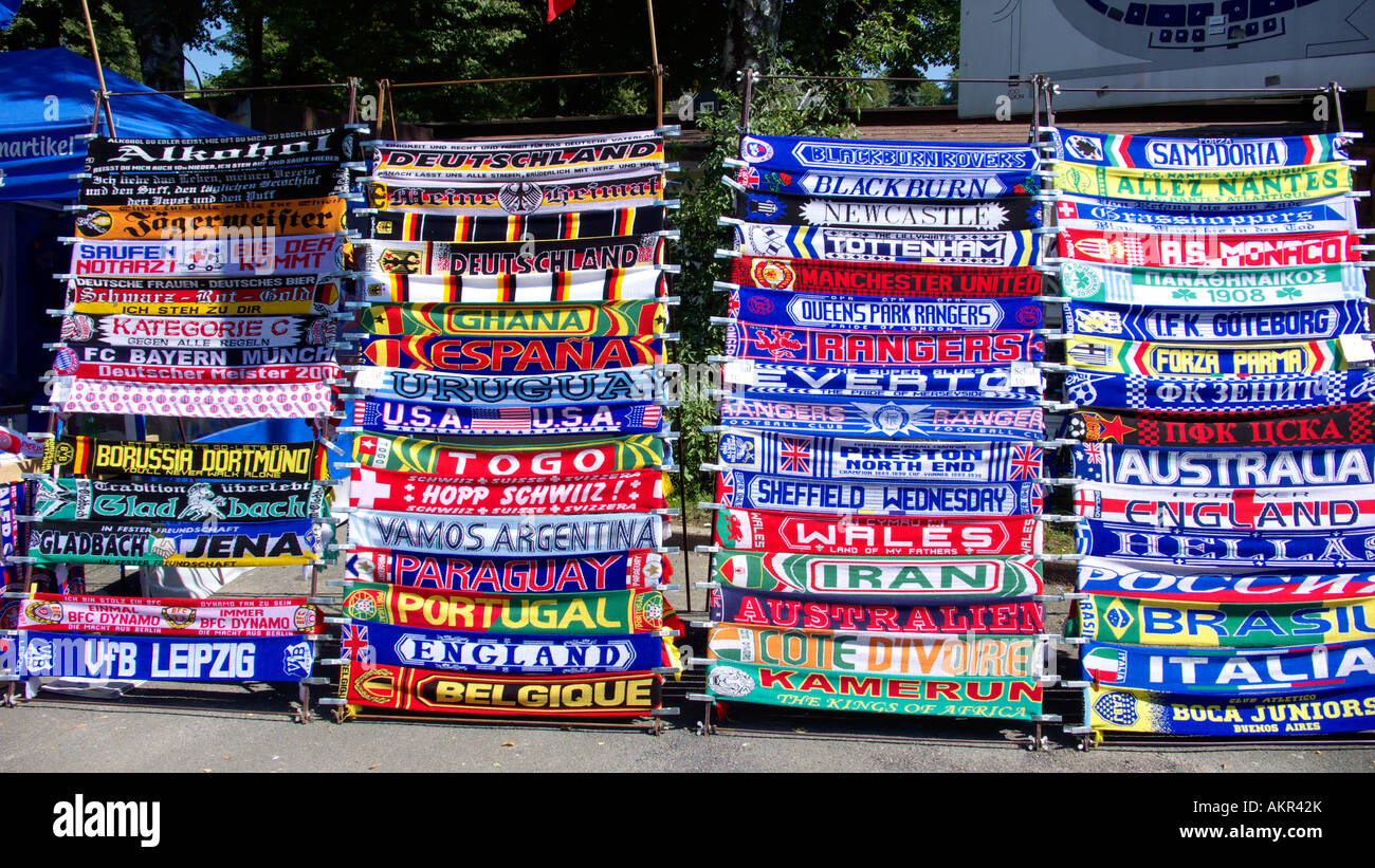 Football Spectators Football Fans Fan Shop Sales Stand With
