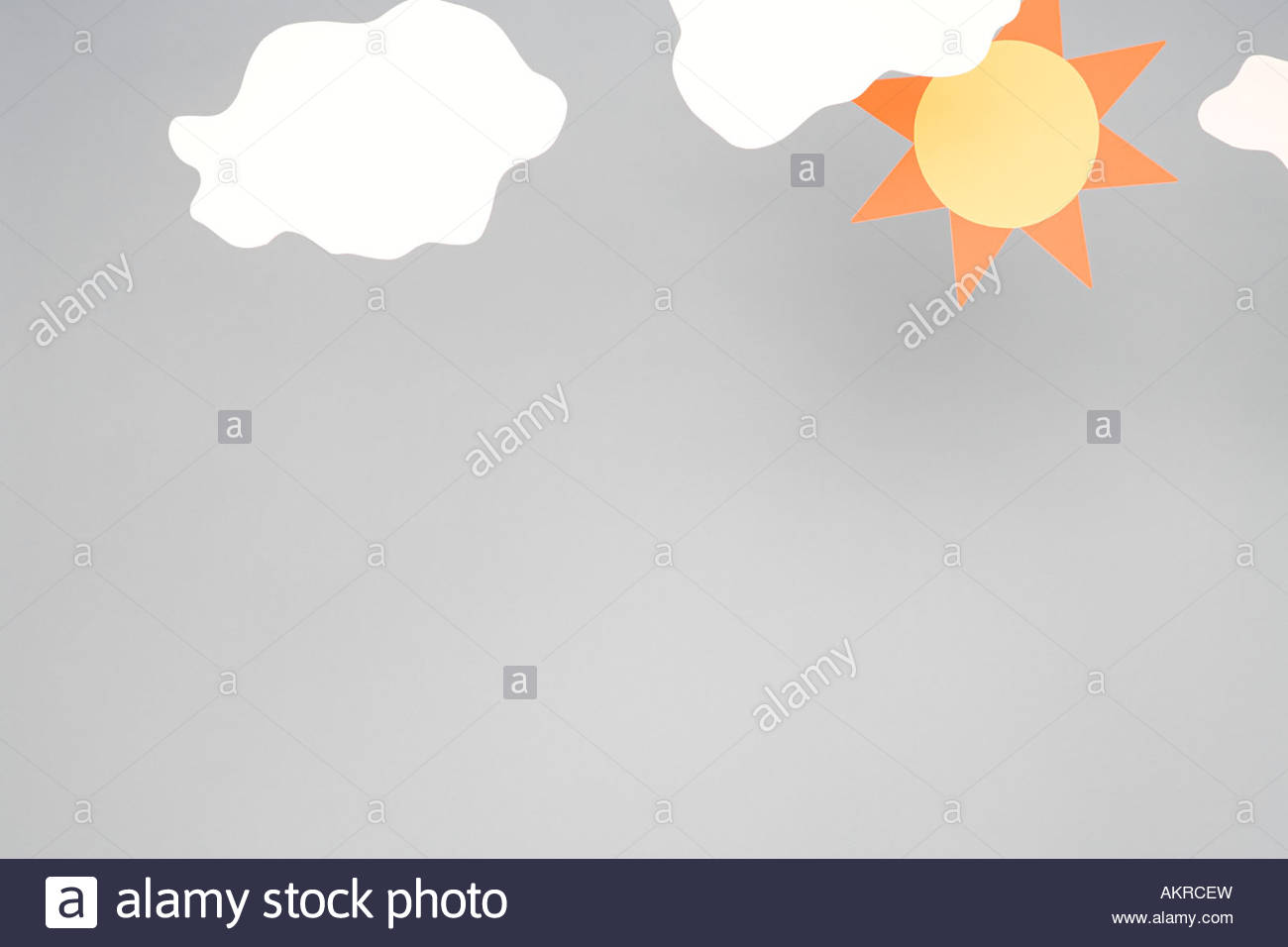 Sun and cloud - Stock Image
