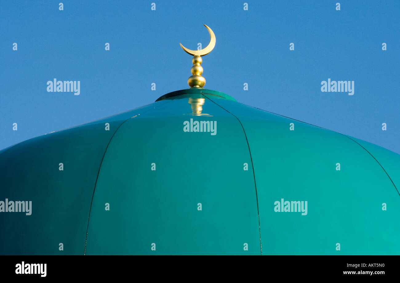 Roof of Mosque Sheffield - Stock Image