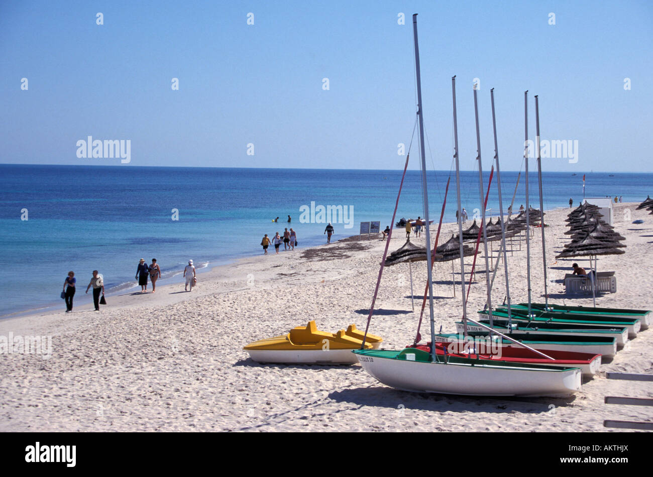 Port el Kantaoui Tunesia - Stock Image