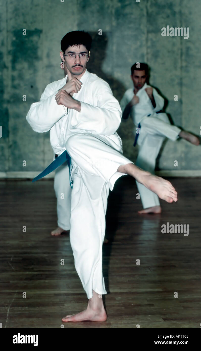 PARIS France Young Male Adult in Karate Uniform Practicing Sport in Class  sc 1 st  Alamy & PARIS France Young Male Adult in Karate Uniform Practicing Sport ...