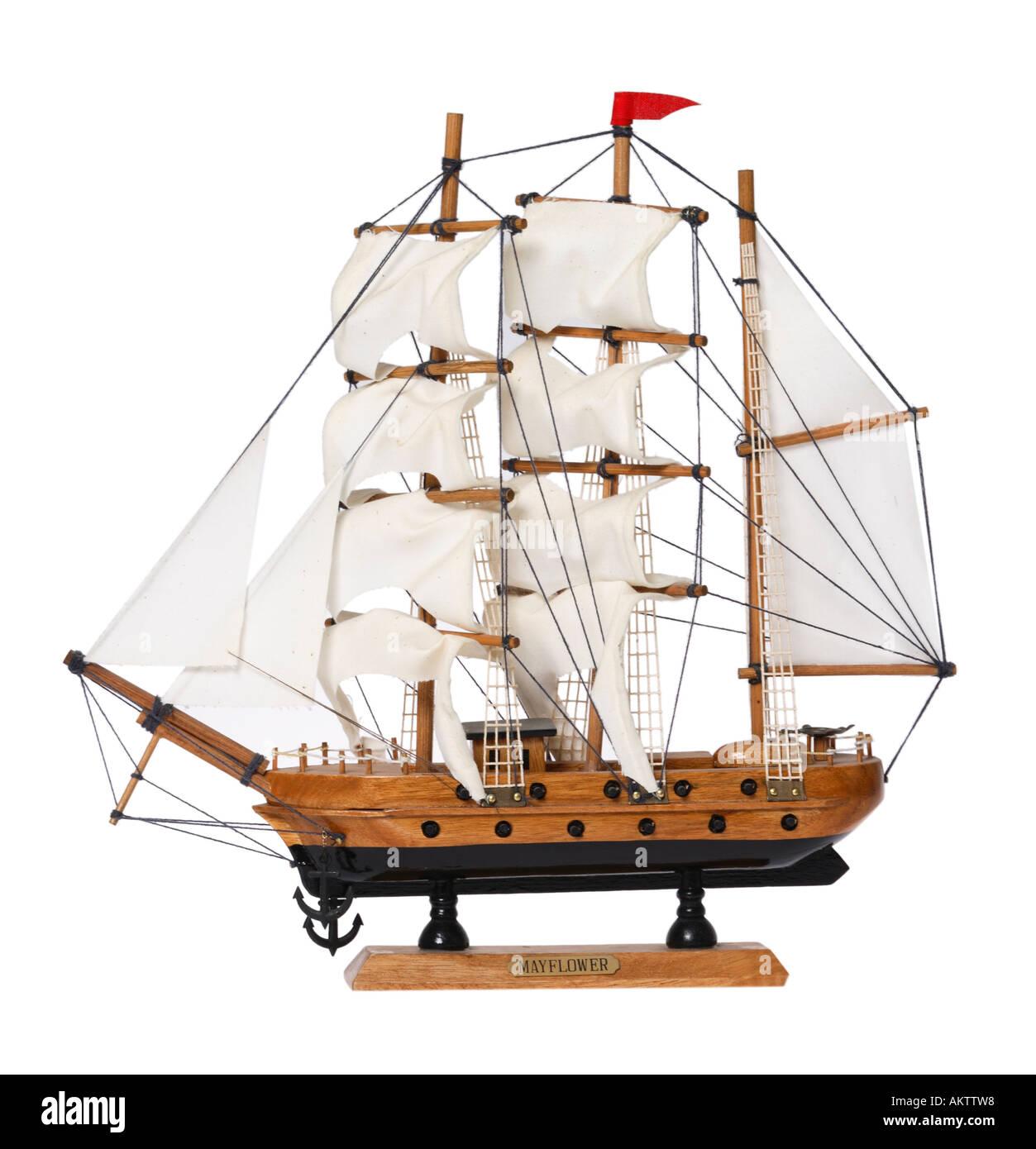 Mayflower ship model stock photo 8613527 alamy for Mayflower car shipping