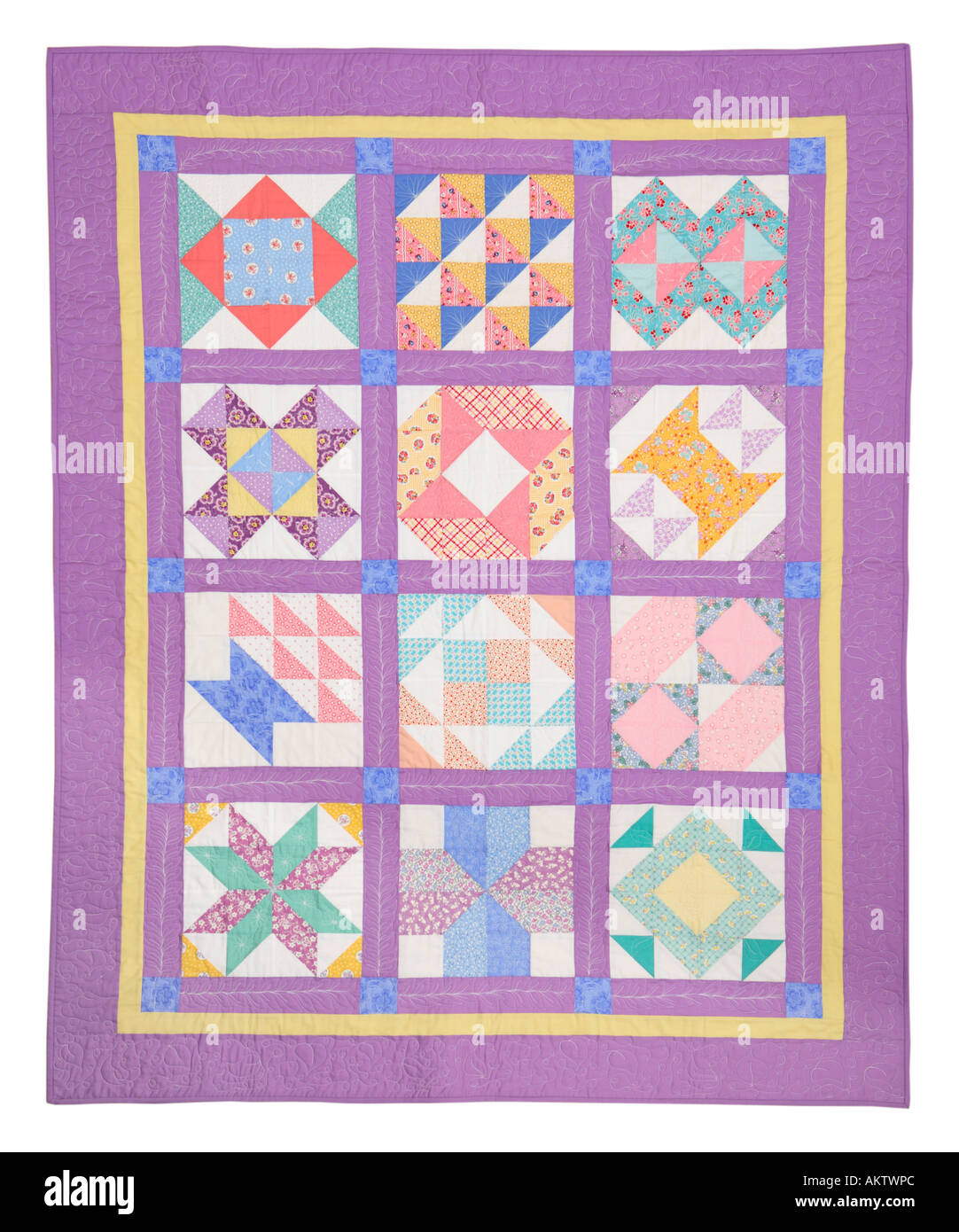 Quilt - Stock Image