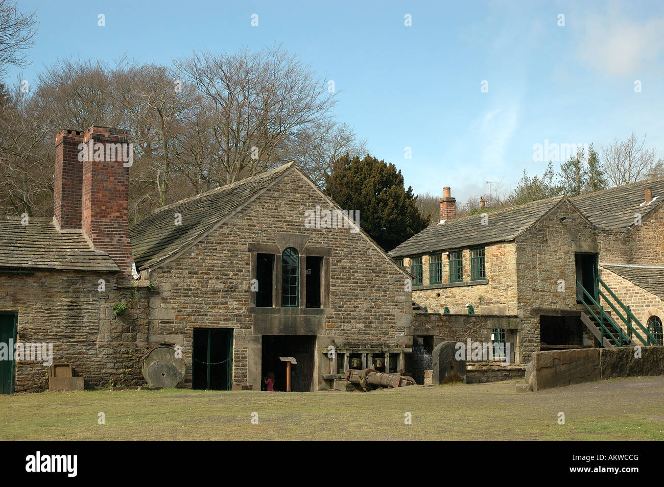Abbeydale Industrial Hamlet, Working Museum, Abbeydale Road South, Sheffield, South Yorkshire, UK, England, Europe - Stock Image