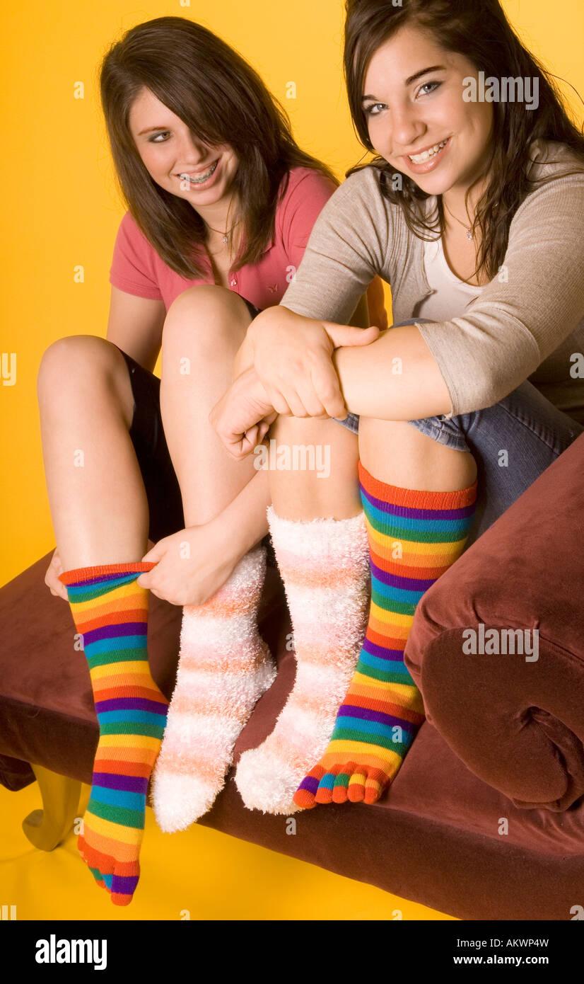 Pics teen socks Sexy Lingerie
