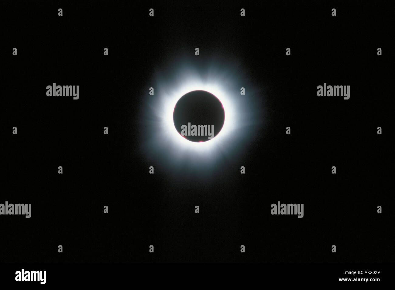 Eclipse of the sun, 11.08.1999 - Stock Image