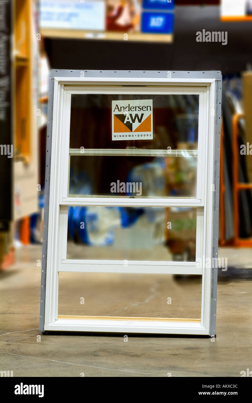 Insulated Window Frame - Stock Image