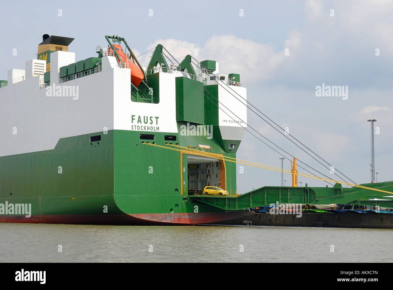 Car Carrier Ships Stock Photos & Car Carrier Ships Stock