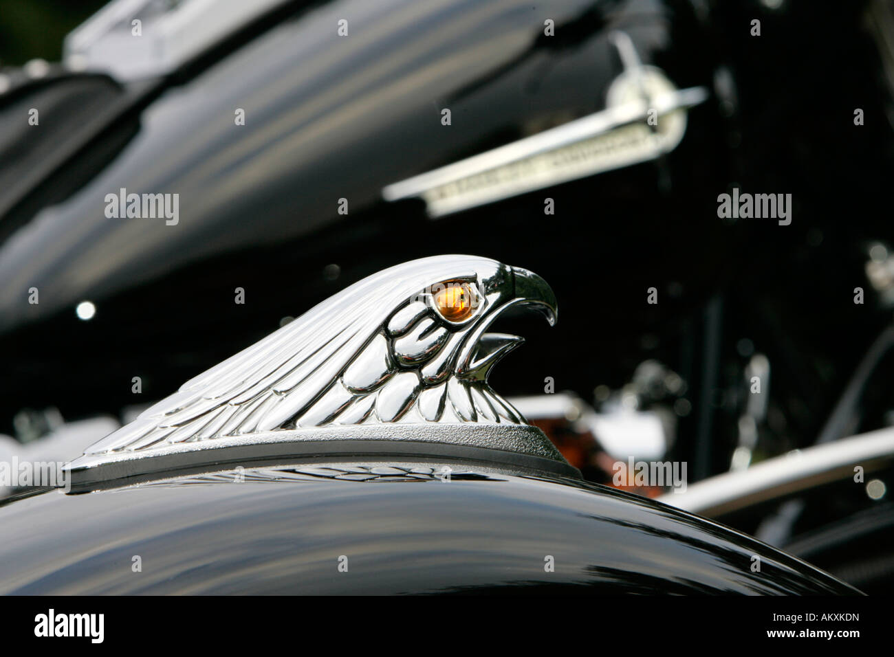 Harley Davidson, detail. Stock Photo