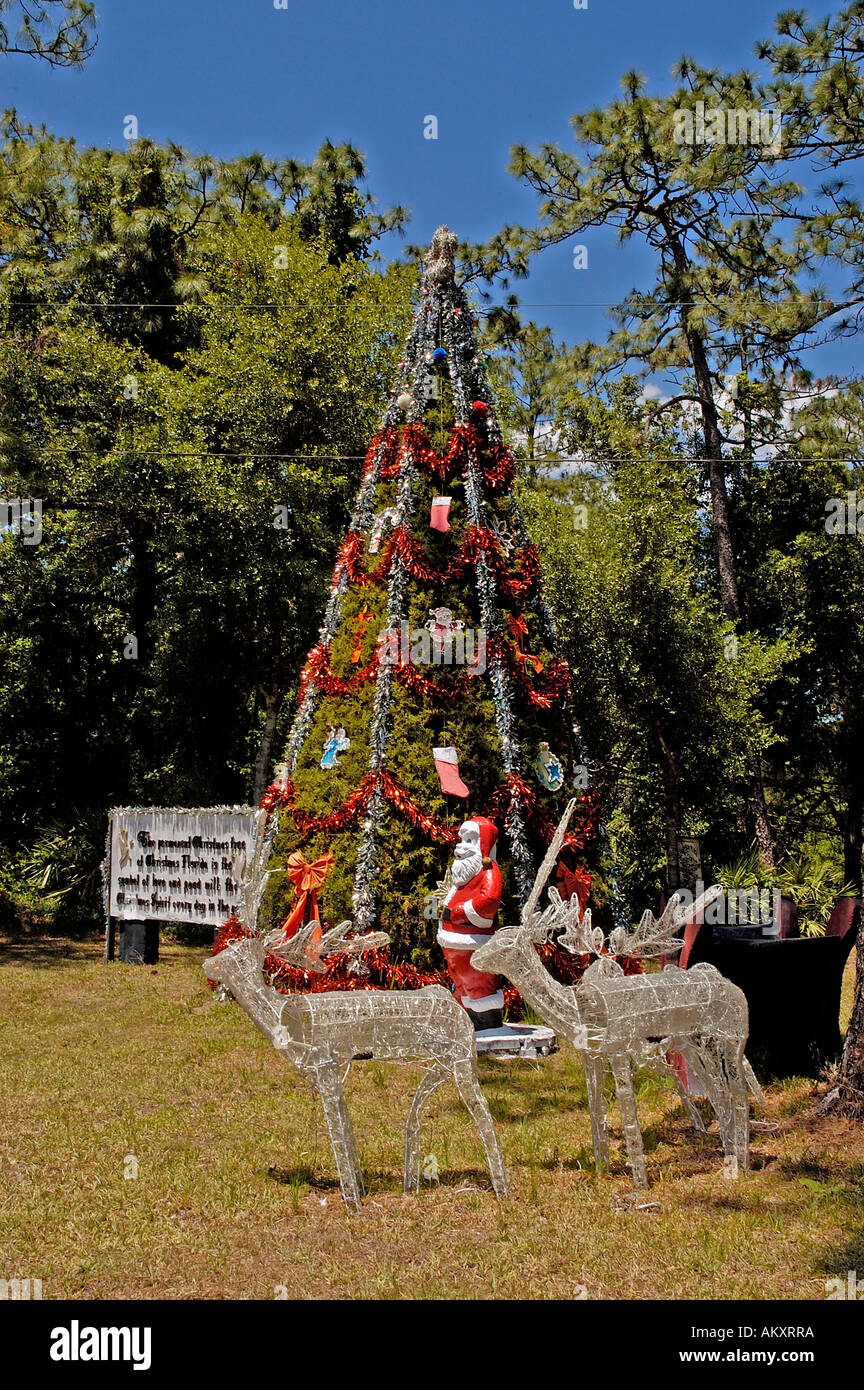 Christmas Town Florida.Orlando Florida Town Of Christmas Tree Display Americana