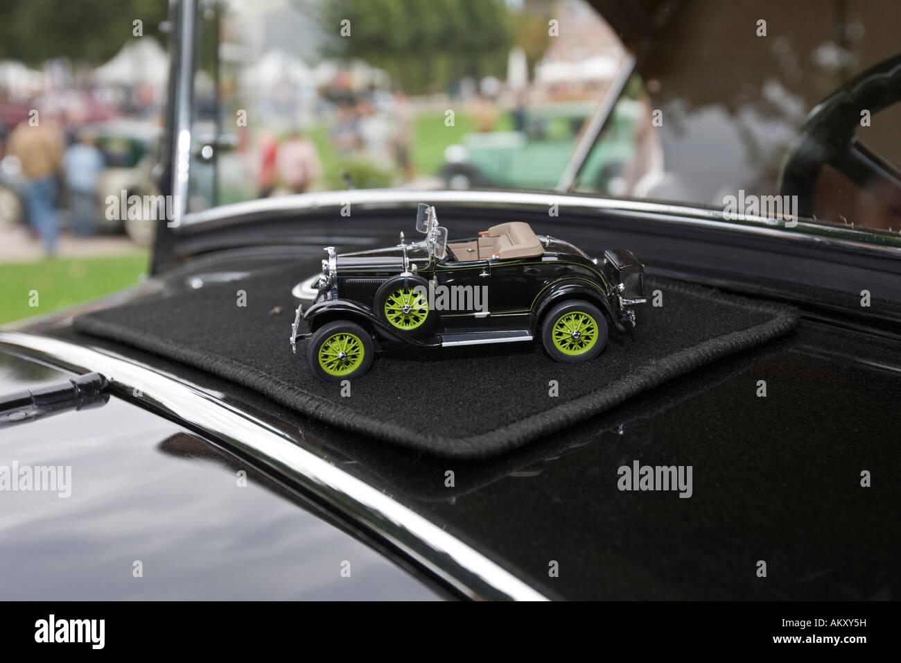 Ford Roadster Model A de Luxe USA 1931, vintage car meeting, Schwetzingen, Baden-Wuerttemberg, Germany - Stock Image