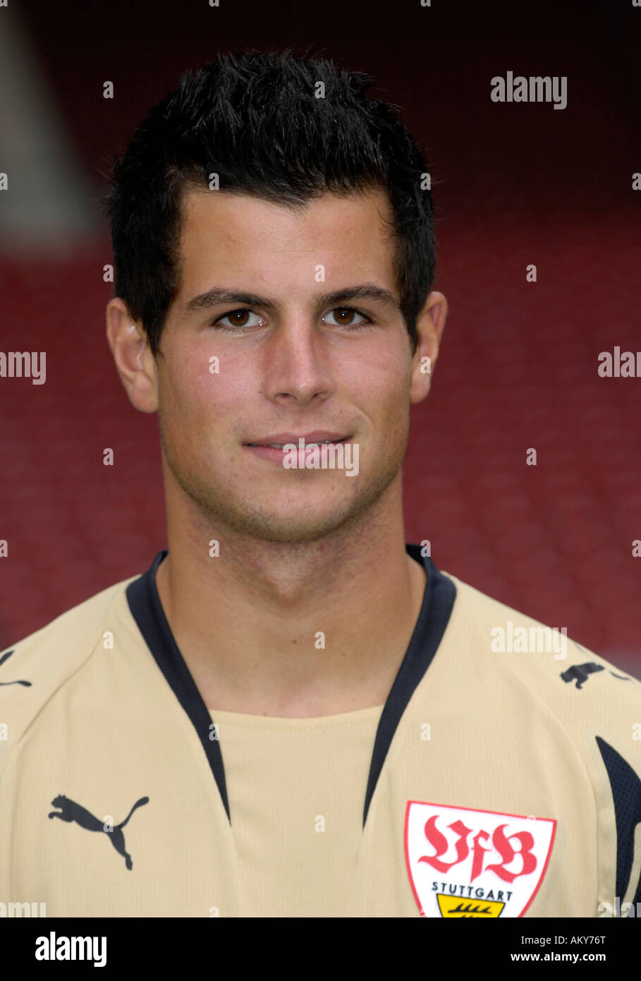 Goalkeeper Michael LANGER VfB Stuttgart Stock Photo