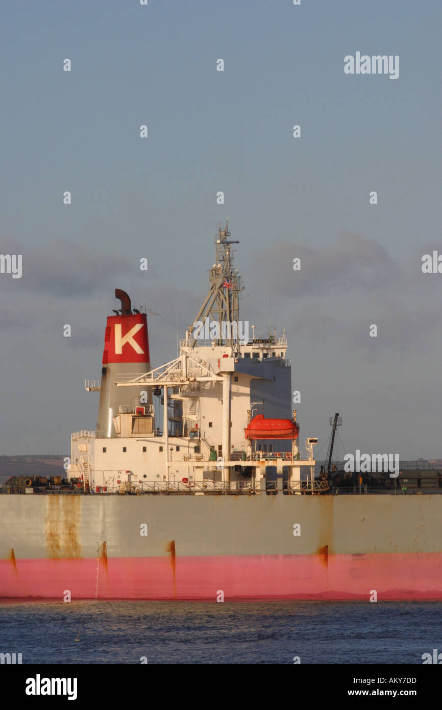 Shipping Trade Ship Stern Stock Photos & Shipping Trade Ship Stern