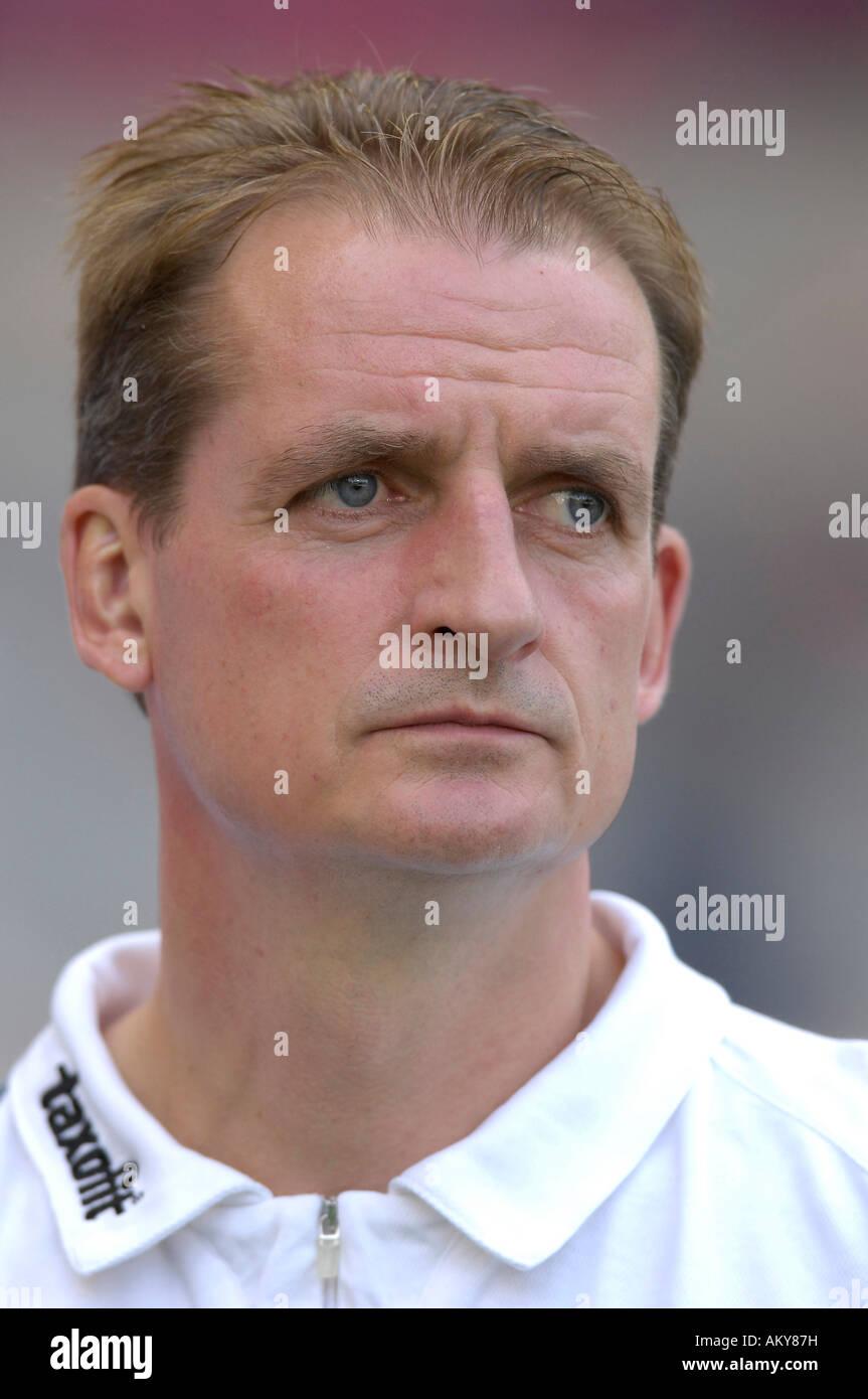 Petrik SANDER former coach FC Energie Cottbus - Stock Image