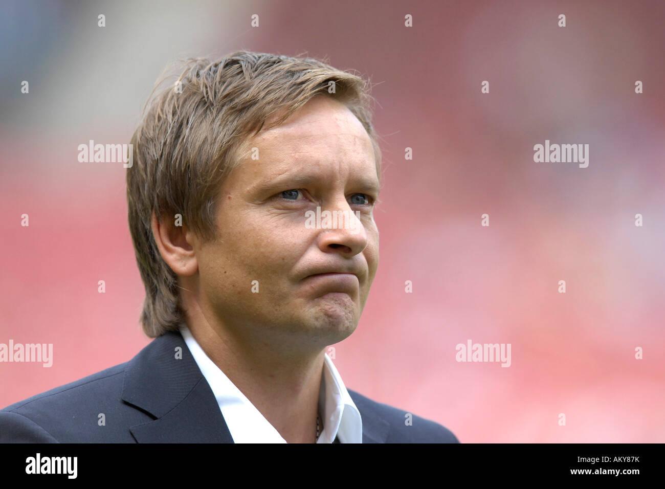 Horst HELDT manager VfB Stuttgart - Stock Image