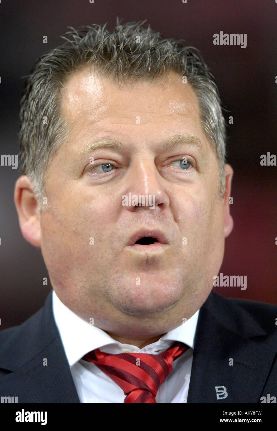 Ulrich RUF chief finance officer VfB Stuttgart - Stock Image