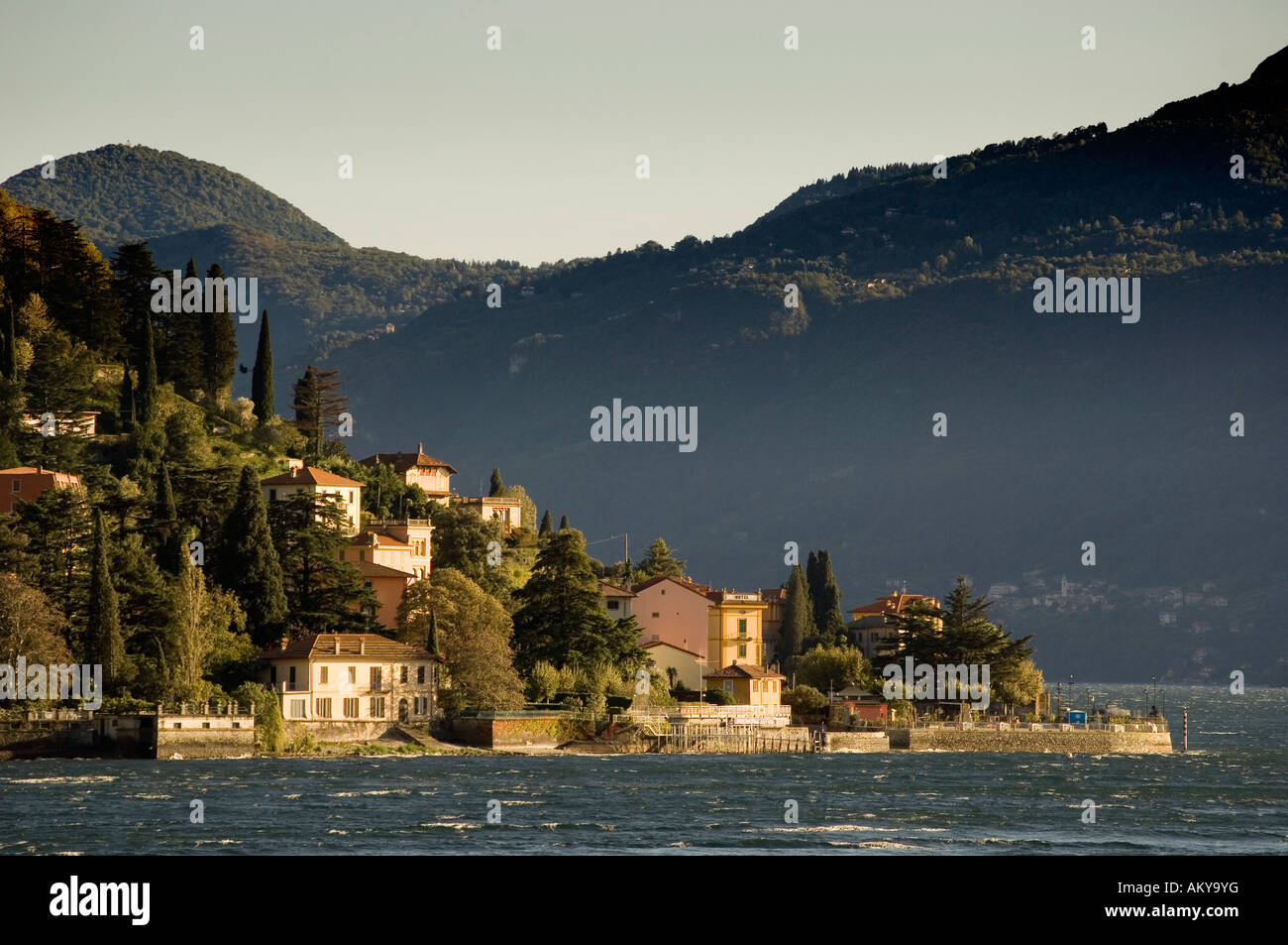 Varenna, lake of Como, Lombardia, Italy - Stock Image