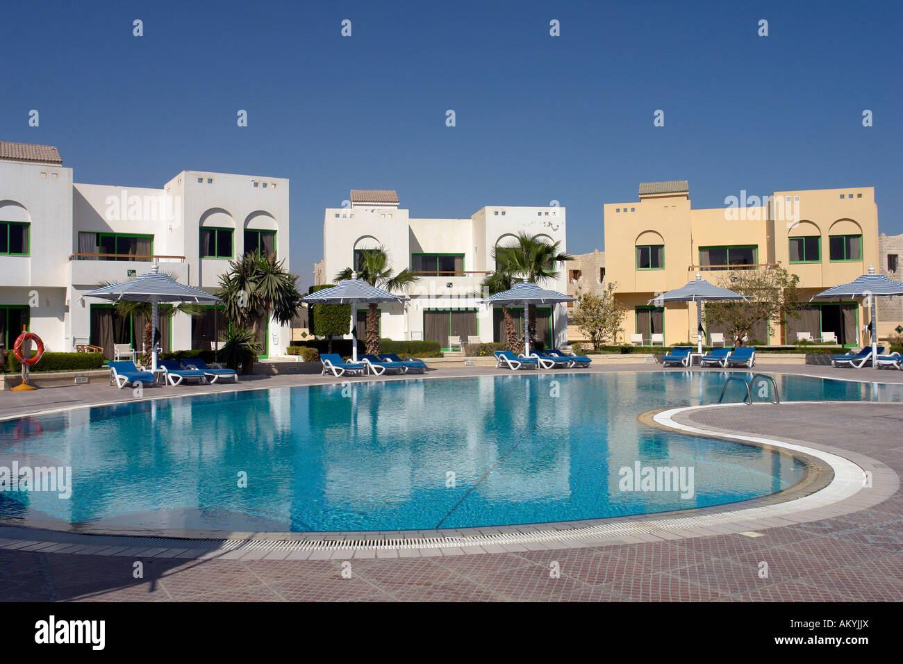 Bathing Resort Hurghada At The Red Sea Hilton Long Beach Resort Stock Photo Alamy