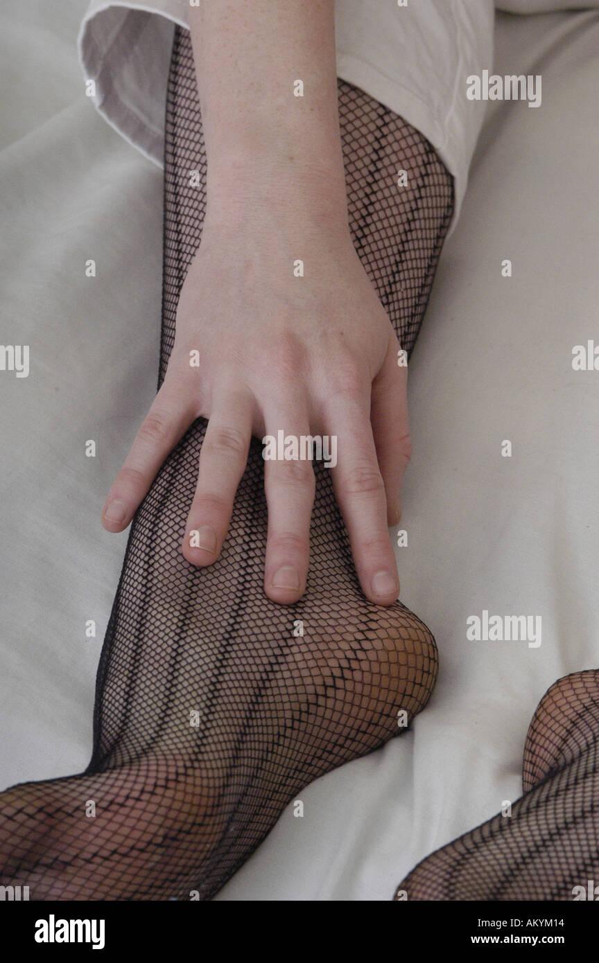 Nylons feet in Celebrity Feet
