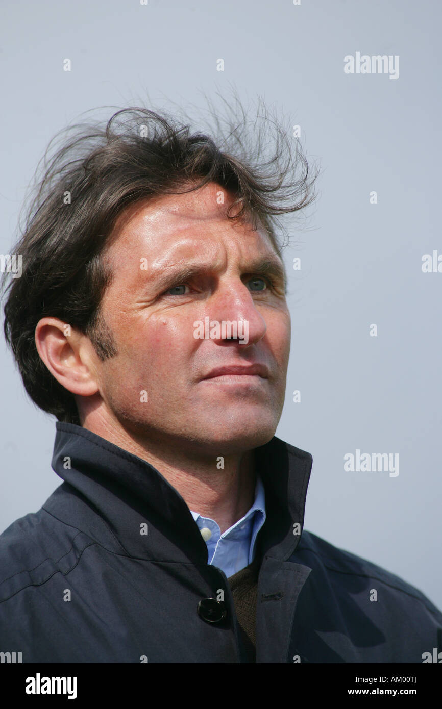 Bruno Labbadia , Coach from the soccer regional league team SV Damstadt 98 - Stock Image