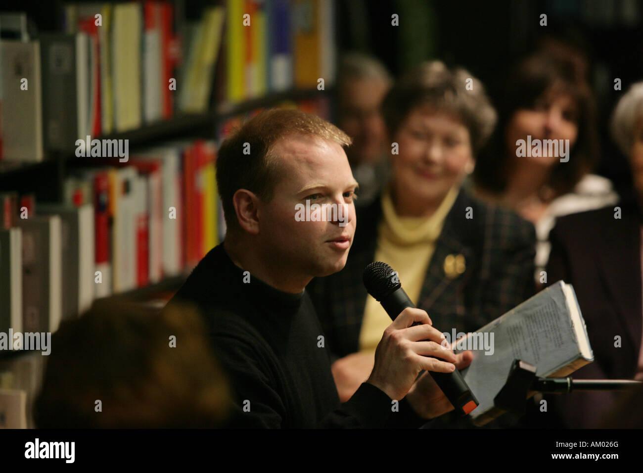 The author Kristof Magnusson Stock Photo