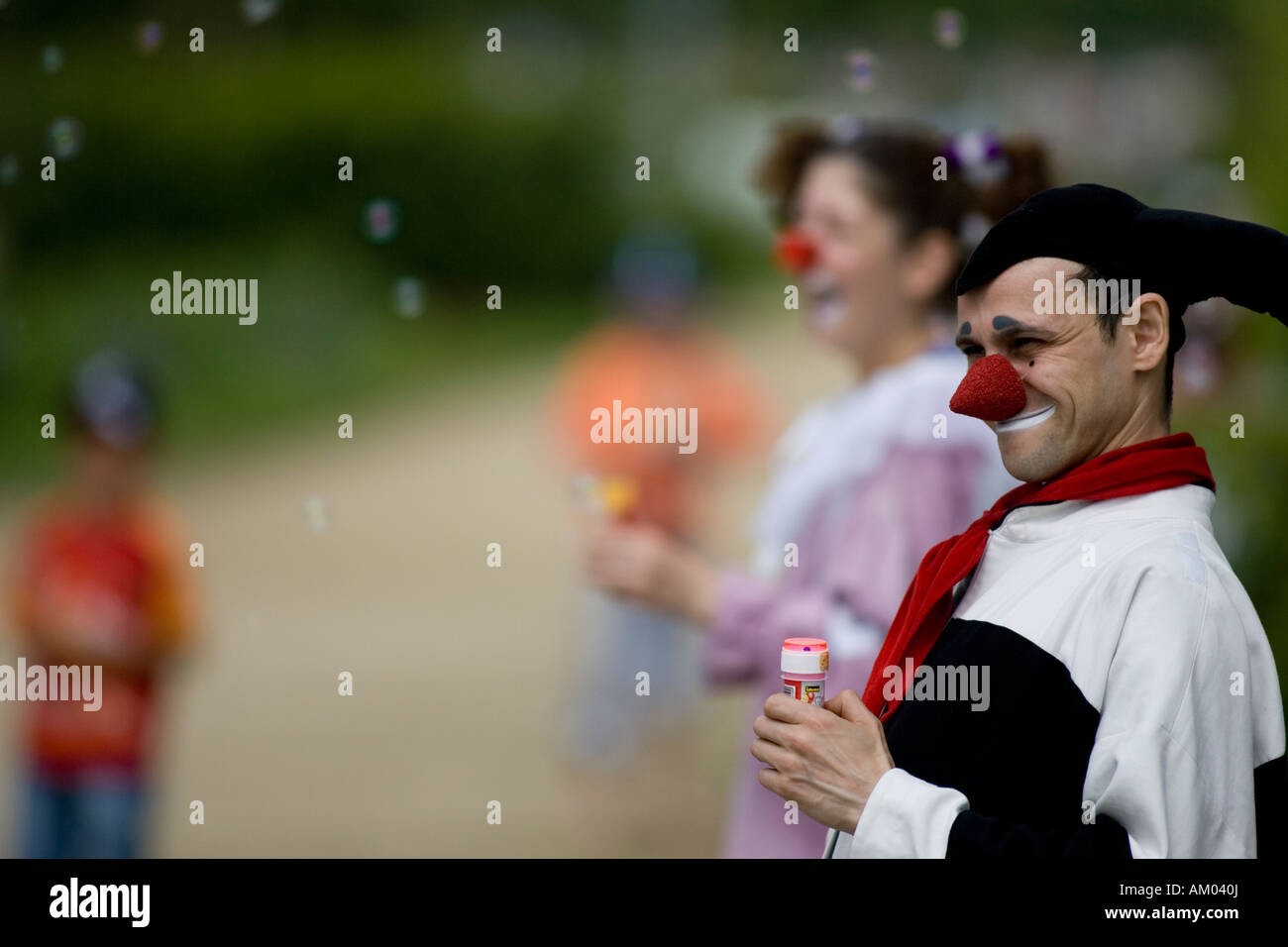 Duo 'Die Aussenseiter' (The Outsiders), Internationales Kleinkunstfestival Usedom, Germany - Stock Image