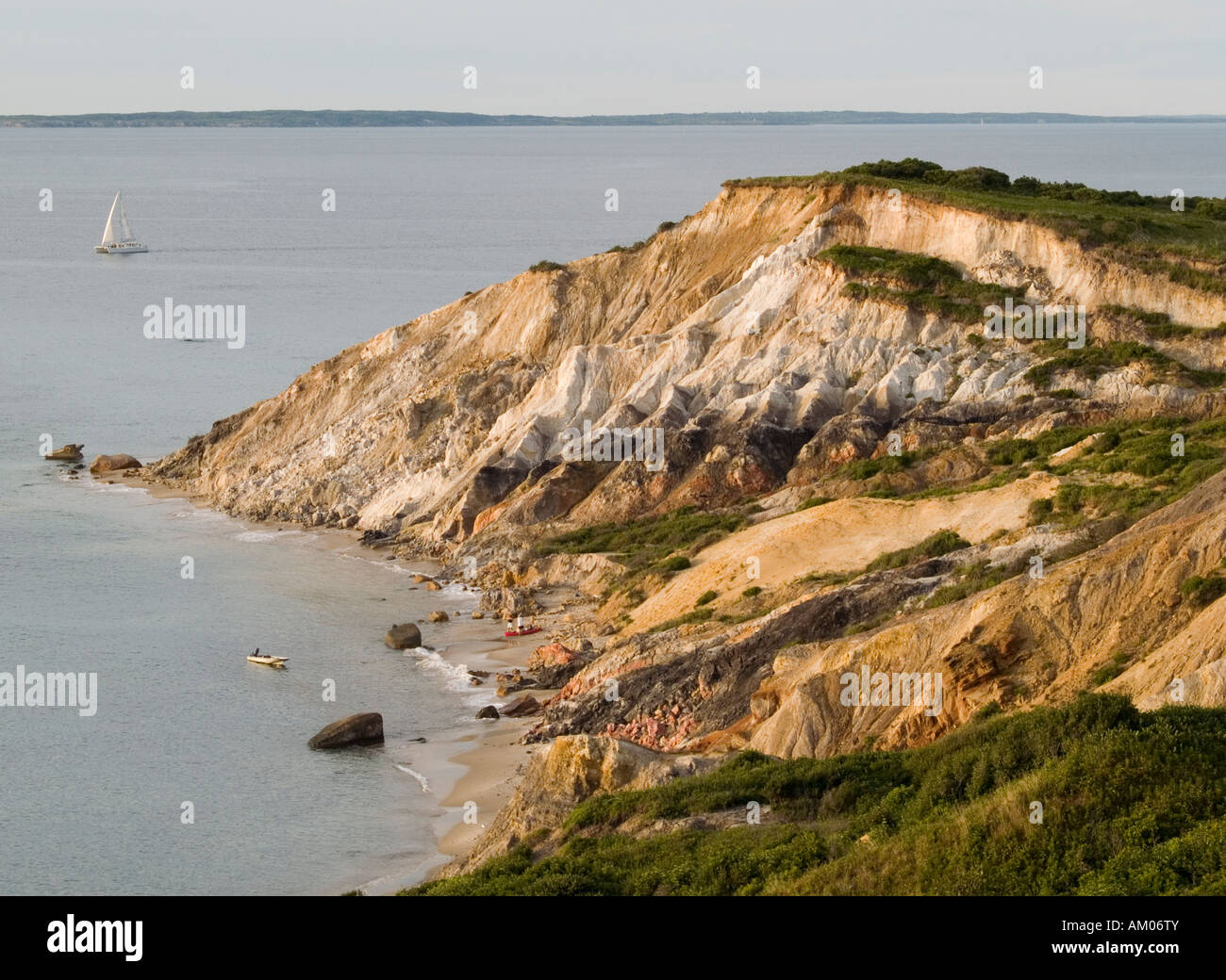 Gay Head Cliffs Aquinnah Marthas Vineyard Gorgeous | Etsy