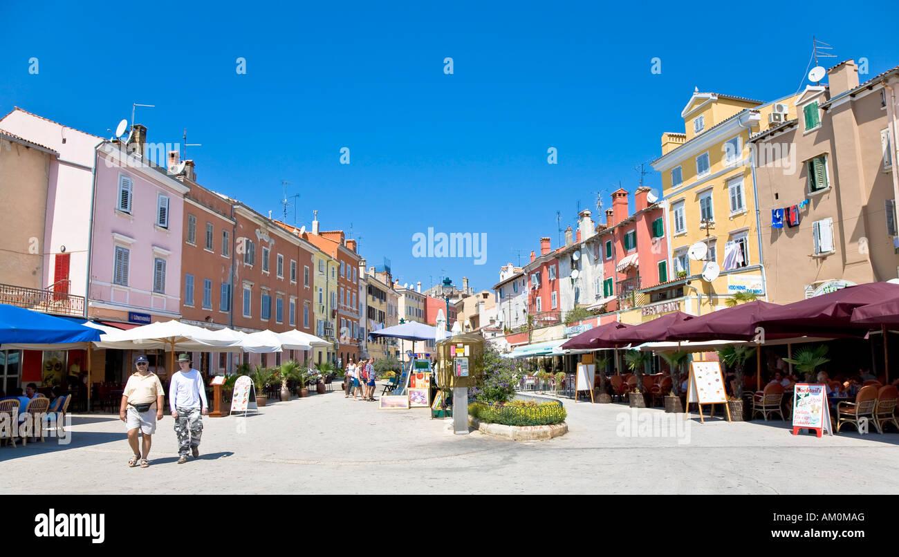 Resort Rovinj, Istria, Croatia Stock Photo
