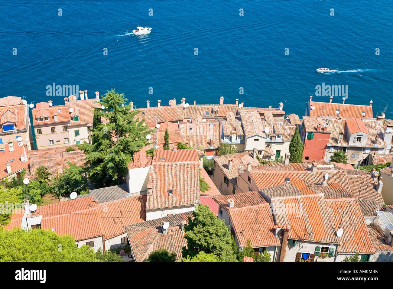 Look about a part of Rovinj, Istria, Croatia Stock Photo